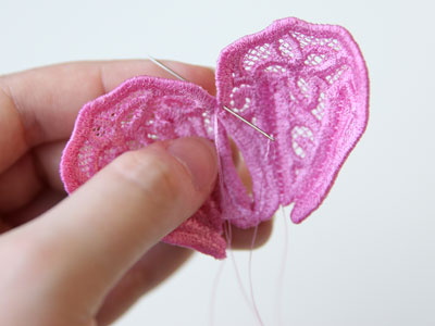 Free project instructions to create a 3D Freestanding Lace Peony.