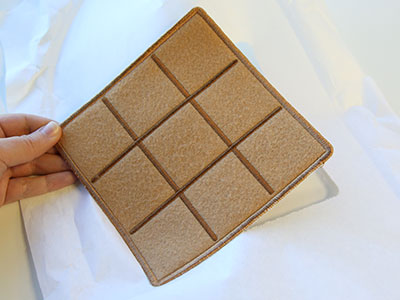 Free project instructions to create a In-the-Hoop S'mores Tic-Tac-Toe Board.