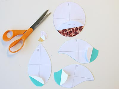 Free project instructions to stitch an in-the-hoop bird stuffie.