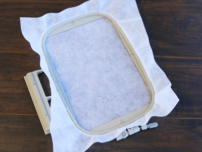 Free project instructions for creating scissor cases, in-the-hoop.