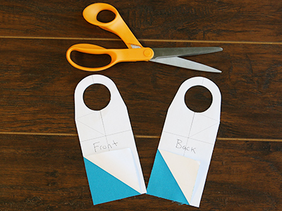 Free project instructions for creating in-the-hoop wine tags.
