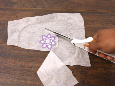 Free project instructions for 3D Applique.