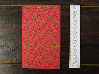 Free project instructions for creatinga cardstock gift card holder