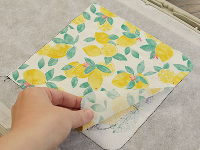 Free project instructions for creating an In-the-Hoop Pocket Pot Holder.