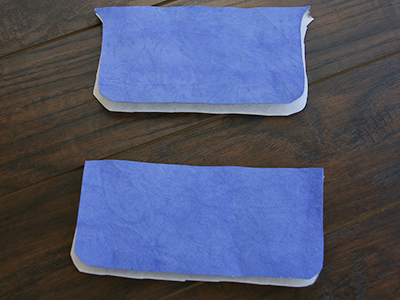 Free project instructions for creating an in-the-hoop eyeglasses case.