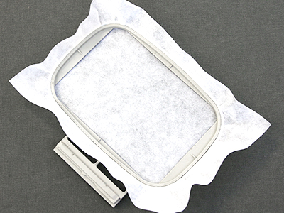 Free project instructions for creating an in-the-hoop cutlery cozy.