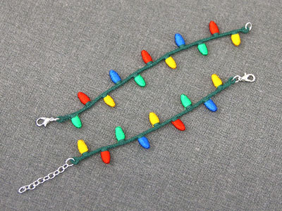 Free project instructions for Freestanding Bracelet (Lace).