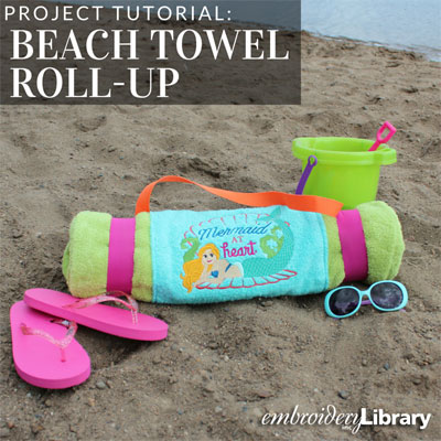 Beach Towel Roll-Up
