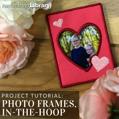 Photo Frames (In-the-Hoop)