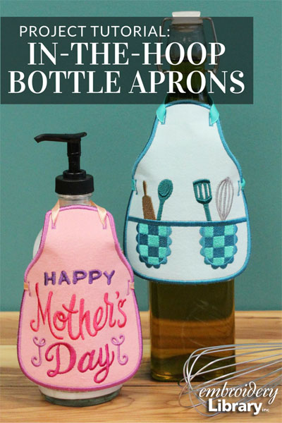 Bottle Aprons, In-the-Hoop
