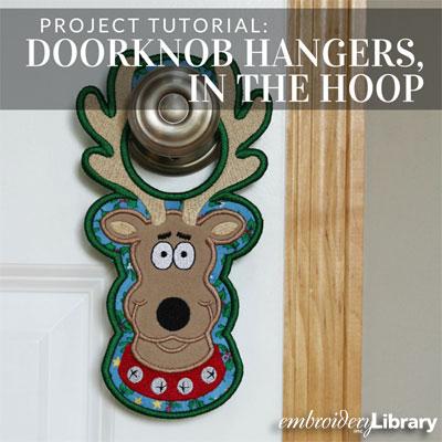 Doorknob Hangers, In-the-Hoop