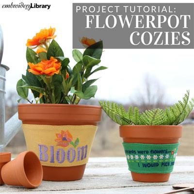 Flowerpot Cozies