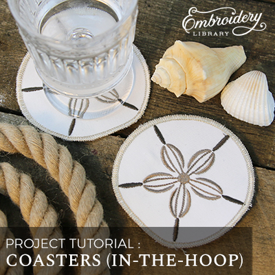 Coasters (In-the-Hoop)