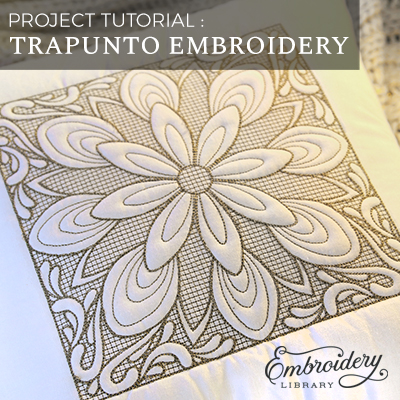 Trapunto Embroidery