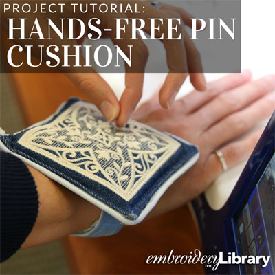 Hands-Free Pin Cushion