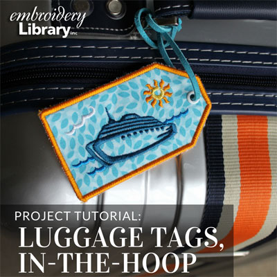 Luggage Tags, In-the-Hoop