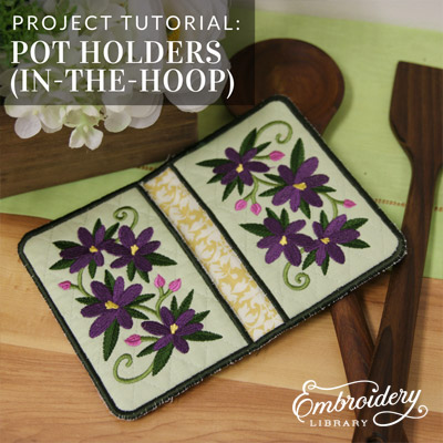Potholders, In-the-Hoop