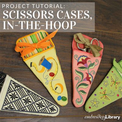 Large Scissors Cases, In-the-Hoop