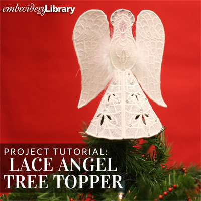 Lace Angel Tree Topper