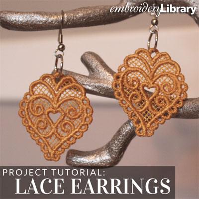 Freestanding Lace Earrings