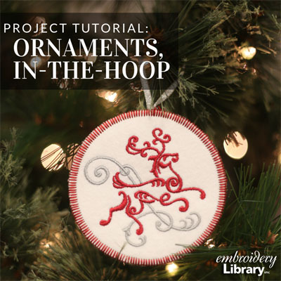 Christmas Ornaments, In-the-Hoop