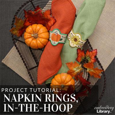 Napkin Rings, In-the-Hoop