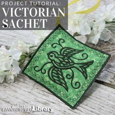 Victorian Sachets, In-the-Hoop