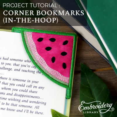 Corner Bookmarks, In-the-Hoop