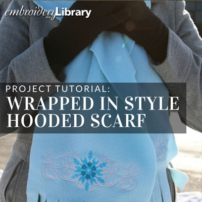 Wrapped in Style Hooded Scarf