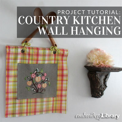 Country Kitchen Wall Hanging