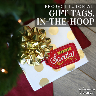 Gift Tags, In-the-Hoop