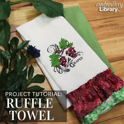Ruffle Towel
