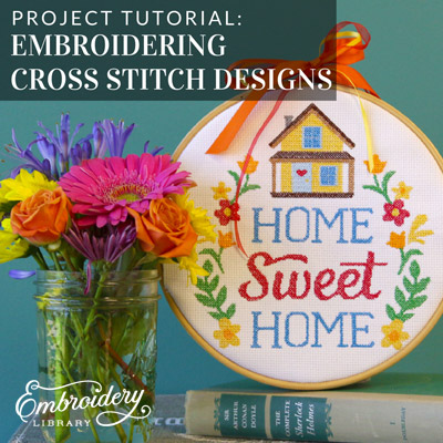 Embroidering Cross Stitch Designs