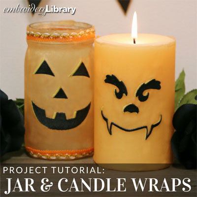 Jar and Candle Wraps