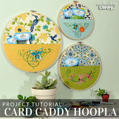 Card Caddy Hoopla
