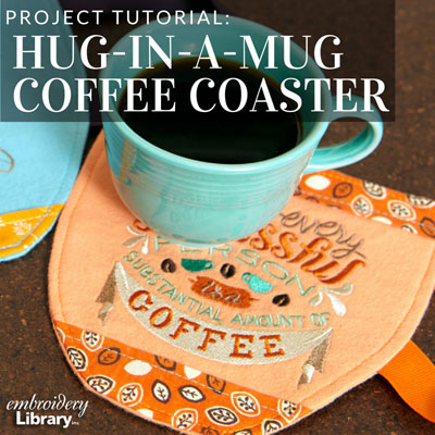 Hug-in-a-Mug Coffee Coaster