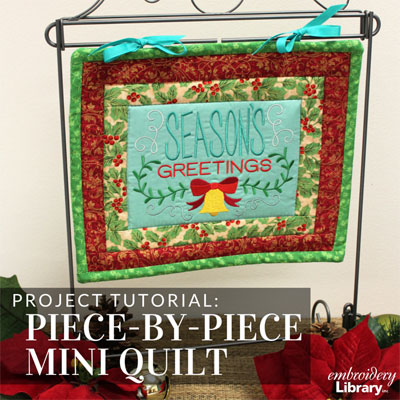 Piece-by-Piece Mini Quilt