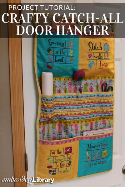 Crafty Catch-All Door Hanger