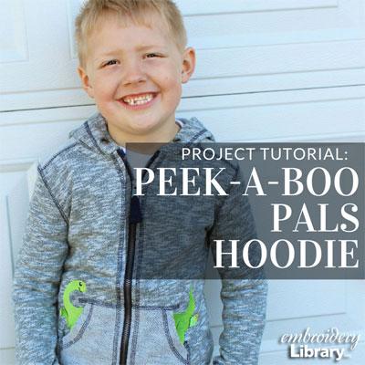 Peek-a-Boo Pals Hoodie