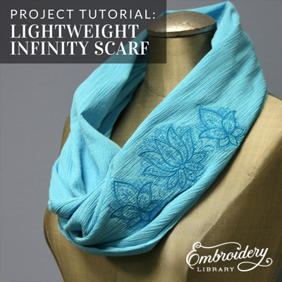 Lightweight Infinity Scarf