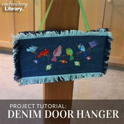 Denim Door Hanger