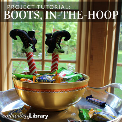 Boots, In-the-Hoop