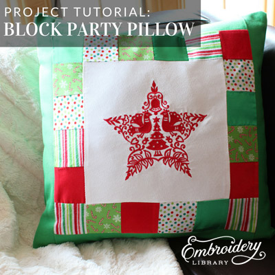 Block Party Pillow