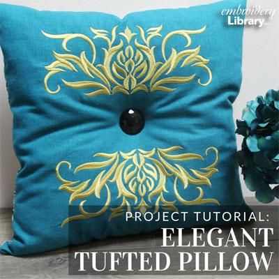 Elegant Tufted Pillow