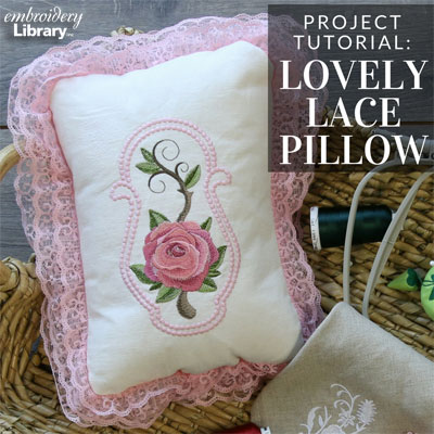 Lovely Lace Pillow