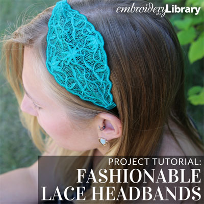 Fashionable Lace Headbands