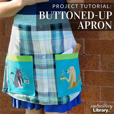 Buttoned-Up Apron