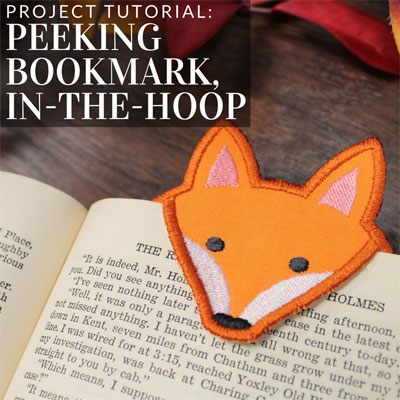 Peeking Bookmarks, In-the-Hoop
