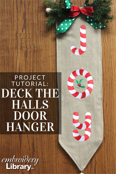 Deck the Halls Door Hanger