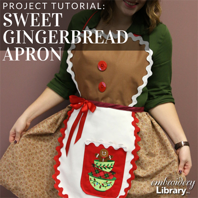 Sweet Gingerbread Apron